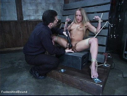 Photo number 9 from Tormenting Kylie Wilde shot for  on Kink.com. Featuring Chris Cannon and Kylie Wilde in hardcore BDSM & Fetish porn.