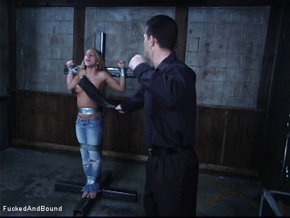 Photo number 13 from Tormenting Kylie Wilde shot for  on Kink.com. Featuring Chris Cannon and Kylie Wilde in hardcore BDSM & Fetish porn.
