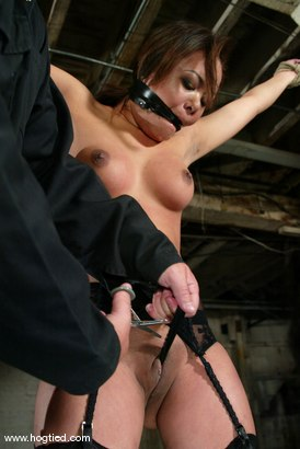 Photo number 2 from Annie Cruz shot for Hogtied on Kink.com. Featuring Annie Cruz in hardcore BDSM & Fetish porn.
