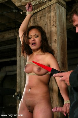 Photo number 10 from Annie Cruz shot for Hogtied on Kink.com. Featuring Annie Cruz in hardcore BDSM & Fetish porn.