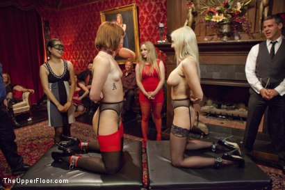 Photo number 1 from Ass Eating Slap Fight Anal Foursome shot for The Upper Floor on Kink.com. Featuring Aiden Starr, Bill Bailey, Claire Robbins and Christie Stevens in hardcore BDSM & Fetish porn.