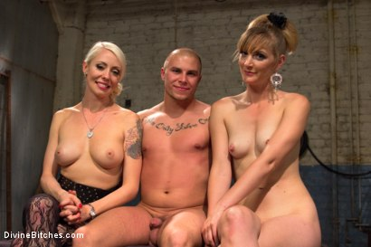 Photo number 10 from Femdom Revenge: Lorelei Lee and Mona Wales Punish Misbehaved Man shot for Divine Bitches on Kink.com. Featuring Mona Wales, Eli Hunter and Lorelei Lee in hardcore BDSM & Fetish porn.