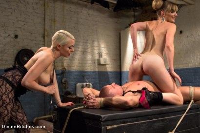 Photo number 11 from Femdom Revenge: Lorelei Lee and Mona Wales Punish Misbehaved Man shot for Divine Bitches on Kink.com. Featuring Mona Wales, Eli Hunter and Lorelei Lee in hardcore BDSM & Fetish porn.