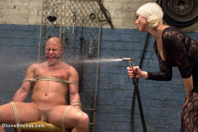 Photo number 3 from Femdom Revenge: Lorelei Lee and Mona Wales Punish Misbehaved Man shot for Divine Bitches on Kink.com. Featuring Mona Wales, Eli Hunter and Lorelei Lee in hardcore BDSM & Fetish porn.