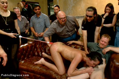 Photo number 8 from Filthy whore fucked in bondage shot for Public Disgrace on Kink.com. Featuring Tommy Pistol, Isis Love and Bianca Breeze in hardcore BDSM & Fetish porn.