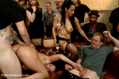 Photo number 14 from Filthy whore fucked in bondage shot for Public Disgrace on Kink.com. Featuring Tommy Pistol, Isis Love and Bianca Breeze in hardcore BDSM & Fetish porn.