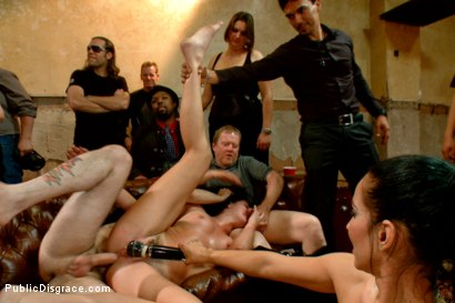 Photo number 9 from Filthy whore fucked in bondage shot for Public Disgrace on Kink.com. Featuring Tommy Pistol, Isis Love and Bianca Breeze in hardcore BDSM & Fetish porn.