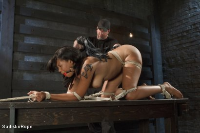 Photo number 6 from Newbie Gets Taken to the Edge! shot for Sadistic Rope on Kink.com. Featuring Lila Jordan in hardcore BDSM & Fetish porn.