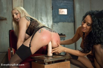Photo number 5 from Anal Slut shot for Everything Butt on Kink.com. Featuring Christie Stevens and Isis Love in hardcore BDSM & Fetish porn.
