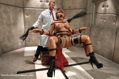 Photo number 3 from The Mad Scientist and his Cheating Wife shot for Sex And Submission on Kink.com. Featuring Ava Devine and Bill Bailey in hardcore BDSM & Fetish porn.