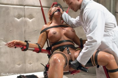 Photo number 5 from The Mad Scientist and his Cheating Wife shot for Sex And Submission on Kink.com. Featuring Ava Devine and Bill Bailey in hardcore BDSM & Fetish porn.