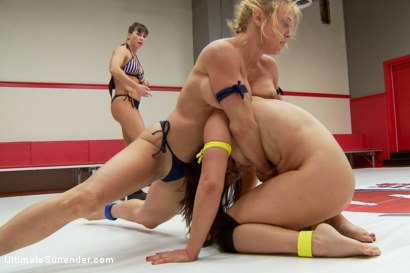 Photo number 6 from Lea Lexis Vs. Darling in a Lightweight tournament battle shot for Ultimate Surrender on Kink.com. Featuring Dee Williams and Lea Lexis in hardcore BDSM & Fetish porn.