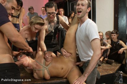 Photo number 15 from Dirty fuck-hole disgraced! shot for Public Disgrace on Kink.com. Featuring Isis Love, Rose Rhapsody and Karlo Karrera in hardcore BDSM & Fetish porn.