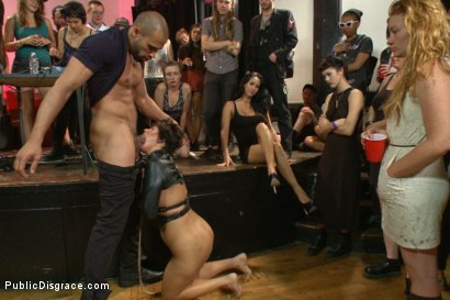 Photo number 2 from Dirty fuck-hole disgraced! shot for Public Disgrace on Kink.com. Featuring Isis Love, Rose Rhapsody and Karlo Karrera in hardcore BDSM & Fetish porn.