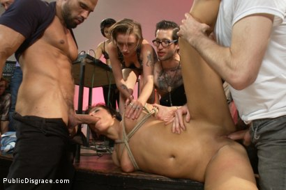 Photo number 4 from Dirty fuck-hole disgraced! shot for Public Disgrace on Kink.com. Featuring Isis Love, Rose Rhapsody and Karlo Karrera in hardcore BDSM & Fetish porn.