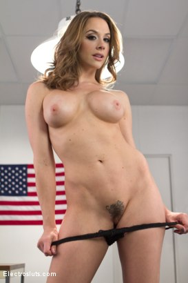 Photo number 2 from TSA Takedown, Part Two: Patriots shot for Electro Sluts on Kink.com. Featuring Chanel Preston and Penny Pax in hardcore BDSM & Fetish porn.