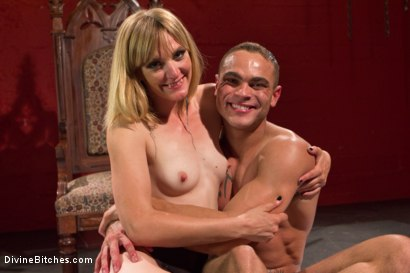 Photo number 7 from ELECTRO FEMDOM: Mona Wales Electrically Teases and Torments Slave Boy shot for Divine Bitches on Kink.com. Featuring Mona Wales and Brock Avery in hardcore BDSM & Fetish porn.