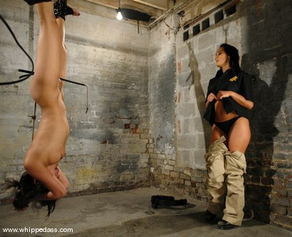 Photo number 10 from Sandra Romain and Annie Cruz shot for Whipped Ass on Kink.com. Featuring Sandra Romain and Annie Cruz in hardcore BDSM & Fetish porn.