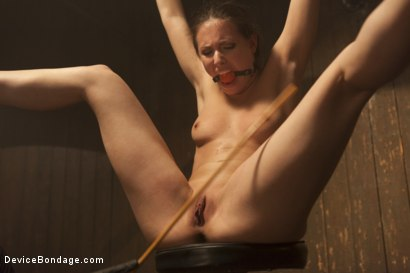 Photo number 11 from Fragile Captive: A Device Bondage Feature shot for Device Bondage on Kink.com. Featuring Casey Calvert in hardcore BDSM & Fetish porn.
