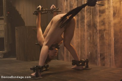 Photo number 3 from Fragile Captive: A Device Bondage Feature shot for Device Bondage on Kink.com. Featuring Casey Calvert in hardcore BDSM & Fetish porn.