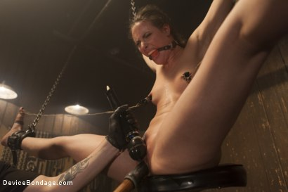 Photo number 4 from Fragile Captive: A Device Bondage Feature shot for Device Bondage on Kink.com. Featuring Casey Calvert in hardcore BDSM & Fetish porn.