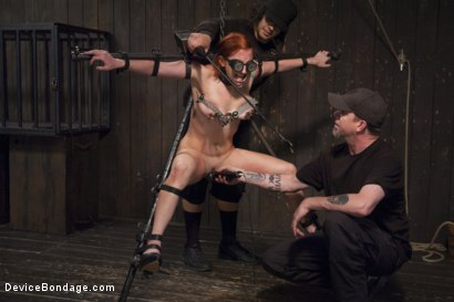 Photo number 3 from 2 x 4 of Indifference shot for Device Bondage on Kink.com. Featuring Sophia Locke and Orlando in hardcore BDSM & Fetish porn.