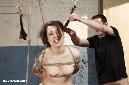 Photo number 6 from Too Bad, So Sad shot for  on Kink.com. Featuring Elizabeth Thorn and Maestro in hardcore BDSM & Fetish porn.