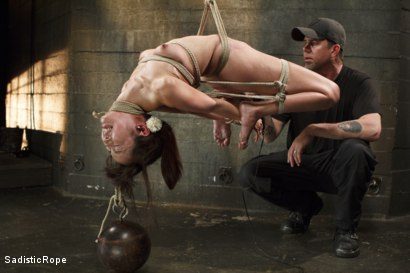 Photo number 7 from Japanese Rope Slut shot for Sadistic Rope on Kink.com. Featuring Marica Hase in hardcore BDSM & Fetish porn.