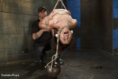 Photo number 14 from Japanese Rope Slut shot for Sadistic Rope on Kink.com. Featuring Marica Hase in hardcore BDSM & Fetish porn.