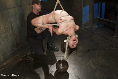 Photo number 6 from Japanese Rope Slut shot for Sadistic Rope on Kink.com. Featuring Marica Hase in hardcore BDSM & Fetish porn.