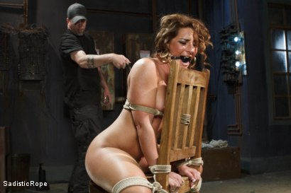 Photo number 11 from Big Booty Pain Slut shot for Sadistic Rope on Kink.com. Featuring Savannah Fox in hardcore BDSM & Fetish porn.