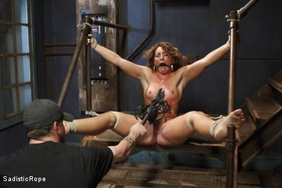 Photo number 13 from Big Booty Pain Slut shot for Sadistic Rope on Kink.com. Featuring Savannah Fox in hardcore BDSM & Fetish porn.