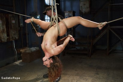 Photo number 2 from Big Booty Pain Slut shot for Sadistic Rope on Kink.com. Featuring Savannah Fox in hardcore BDSM & Fetish porn.