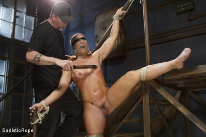 Photo number 9 from Big Booty Pain Slut shot for Sadistic Rope on Kink.com. Featuring Savannah Fox in hardcore BDSM & Fetish porn.
