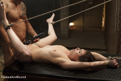 Photo number 13 from The Wrong Path shot for  on Kink.com. Featuring Derrick Pierce and Casey Calvert in hardcore BDSM & Fetish porn.