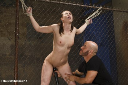 Photo number 7 from The Wrong Path shot for  on Kink.com. Featuring Derrick Pierce and Casey Calvert in hardcore BDSM & Fetish porn.