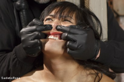 Photo number 1 from Marco Polo - Asian Whore Gets Brutalized shot for Sadistic Rope on Kink.com. Featuring Mia Little in hardcore BDSM & Fetish porn.