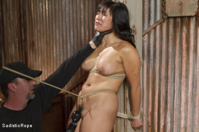 Photo number 2 from Marco Polo - Asian Whore Gets Brutalized shot for Sadistic Rope on Kink.com. Featuring Mia Little in hardcore BDSM & Fetish porn.