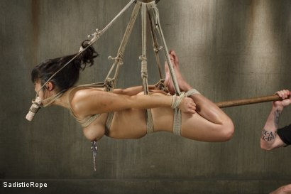 Photo number 6 from Marco Polo - Asian Whore Gets Brutalized shot for Sadistic Rope on Kink.com. Featuring Mia Little in hardcore BDSM & Fetish porn.