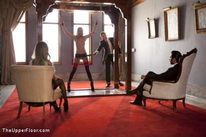 Photo number 1 from The Wife Trader shot for The Upper Floor on Kink.com. Featuring Tommy Pistol, Roxy Rox  and Nadia Styles in hardcore BDSM & Fetish porn.