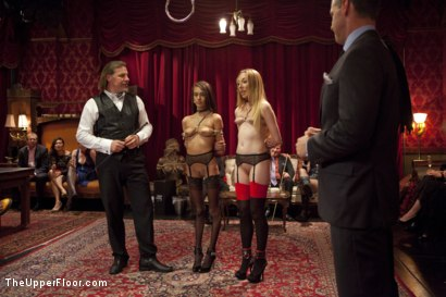 Photo number 1 from Field Promotion of Emma Haize shot for The Upper Floor on Kink.com. Featuring Dane Cross, Emma Haize and Janice Griffith in hardcore BDSM & Fetish porn.