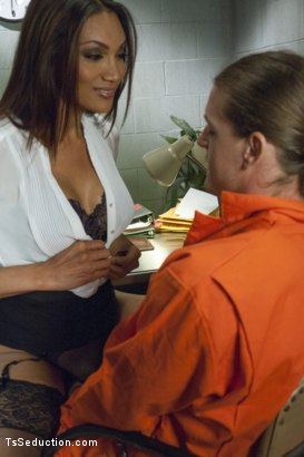 Photo number 3 from Innocent? Guilty? Yasmin Lee Doesn't Care... shot for TS Seduction on Kink.com. Featuring Yasmin Lee and Kip Johnson in hardcore BDSM & Fetish porn.