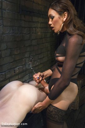 Photo number 15 from Yasmin Lee and Her Powerful Cock shot for TS Seduction on Kink.com. Featuring Yasmin Lee and Kip Johnson in hardcore BDSM & Fetish porn.