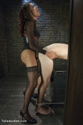 Photo number 6 from Yasmin Lee and Her Powerful Cock shot for TS Seduction on Kink.com. Featuring Yasmin Lee and Kip Johnson in hardcore BDSM & Fetish porn.