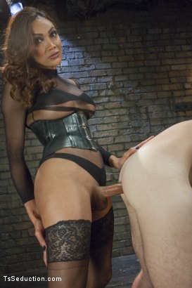 Photo number 8 from Yasmin Lee and Her Powerful Cock shot for TS Seduction on Kink.com. Featuring Yasmin Lee and Kip Johnson in hardcore BDSM & Fetish porn.