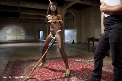 Photo number 2 from Severe Reverse Cowgirl Training Ana Foxxx, Day One shot for The Training Of O on Kink.com. Featuring Owen Gray and Ana Foxxx in hardcore BDSM & Fetish porn.