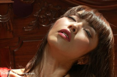 Photo number 1 from Japanese fuck-toy gets her tiny holes stuffed with American cock shot for Hardcore Gangbang on Kink.com. Featuring Marica Hase, John Strong, Mickey Mod, Dane Cross and Gage Sin in hardcore BDSM & Fetish porn.