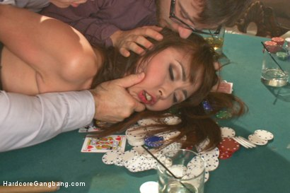 Photo number 4 from Japanese fuck-toy gets her tiny holes stuffed with American cock shot for Hardcore Gangbang on Kink.com. Featuring Marica Hase, John Strong, Mickey Mod, Dane Cross and Gage Sin in hardcore BDSM & Fetish porn.