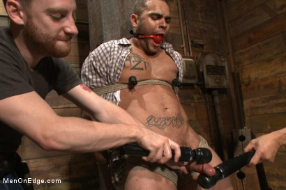 Photo number 4 from Obnoxious contruction worker gets what he deserved shot for Men On Edge on Kink.com. Featuring Brock Avery in hardcore BDSM & Fetish porn.