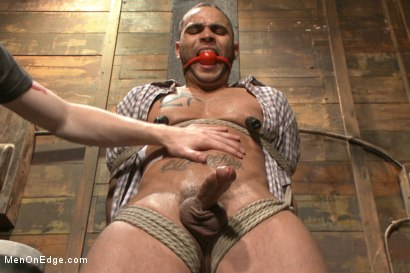 Photo number 5 from Obnoxious contruction worker gets what he deserved shot for Men On Edge on Kink.com. Featuring Brock Avery in hardcore BDSM & Fetish porn.